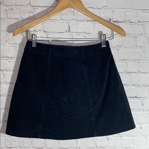 Vintage Skirts - THE BUTTON-FRONT CORDUROY SKIRT